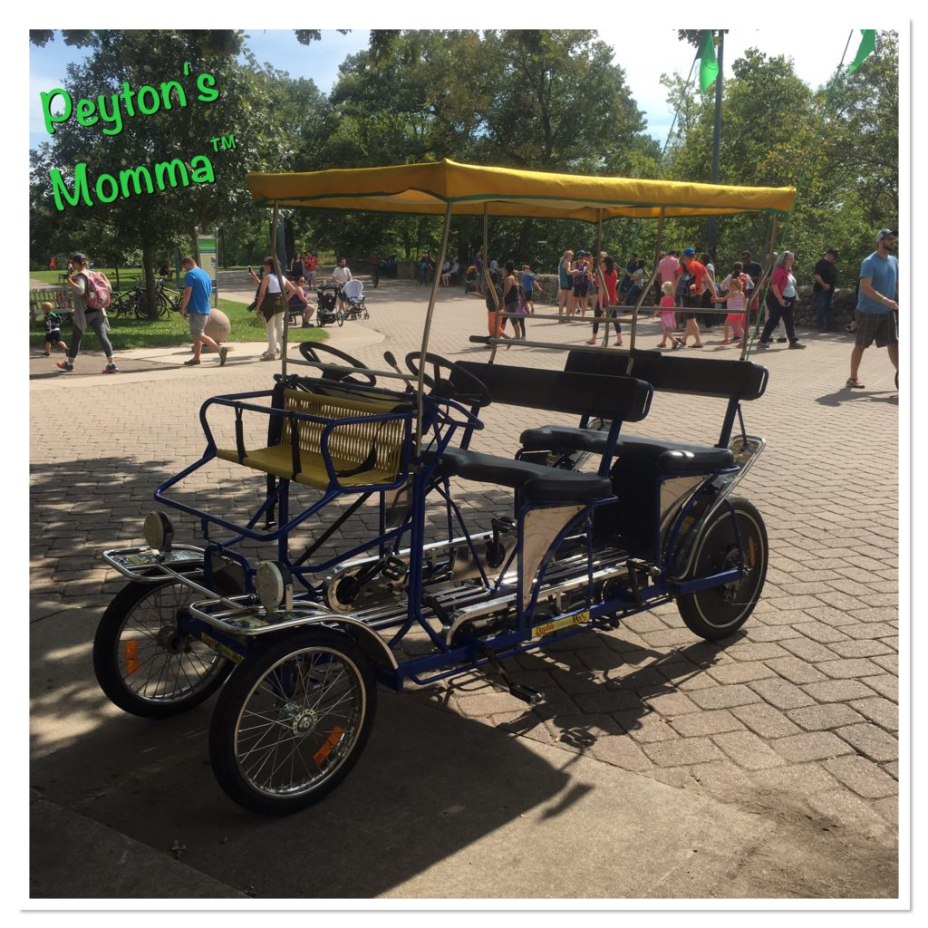 Fun Wheel Rentals Minnehaha Falls MN