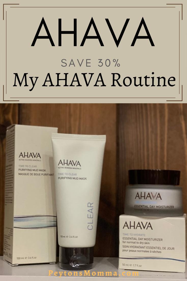 My AHAVA Routine - Peyton's Momma™