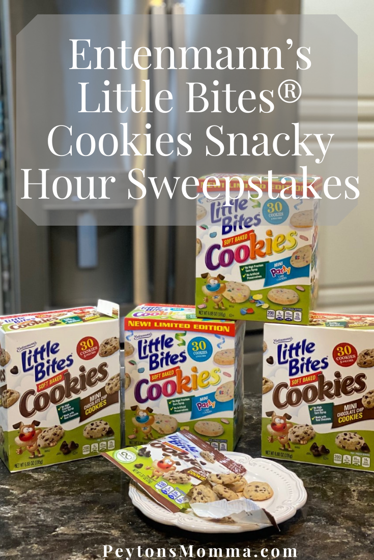 Entenmann's Little Bites® Cookies Snacky Hour Sweepstakes - Peyton's Momma™